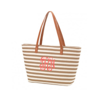 Striped Purse - Khaki