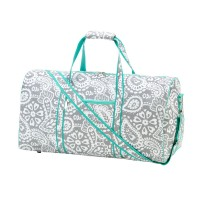 Duffel Bag - Gray Paisley