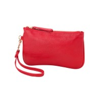 Mini Wristlet  - Red