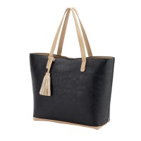 Purse with Tassel - Black
