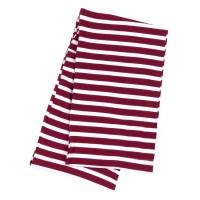 Infinity Scarf - Garnet Stripe
