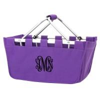 Market Tote - Purple