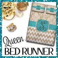 Queen Bed Runner