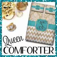 Monogram Bedding Queen Comforter
