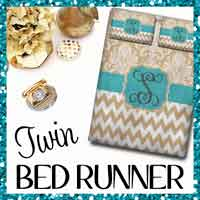 Twin Bed Runner