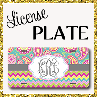 Car Accessories License Plate