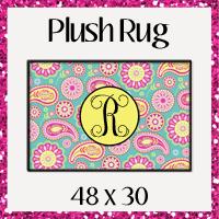 Plush Area Rug 48x30