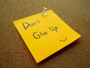 I feel so alone - Don't Give Up!