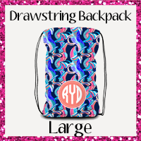 Drawstring backpack Large