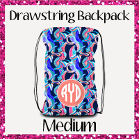 Drawstring Backpack Medium