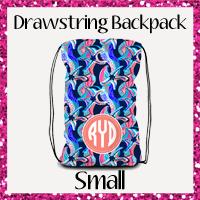 Drawstring Backpack Small
