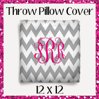 Throw Pillow Cover 12x12