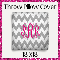 Throw Pillow Cover 18x18