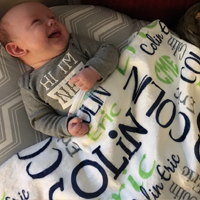 Custom Baby Blankets Colin