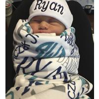 Custom Baby Blanket Ryan